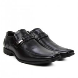 Sapato Couro Social Masculino Preto
