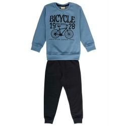 Conjunto Infantil Masculino Azul